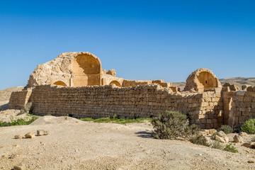 Recess Fitting Ruins Ruins of the ancient Nabataean Town Shivta
