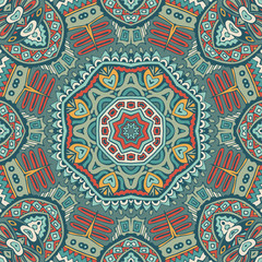 seamless pattern ornamental tile design