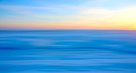 Cape Cod Sunset in Blue