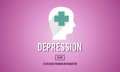 Depression Downturn Decline Recession Sadness Concept