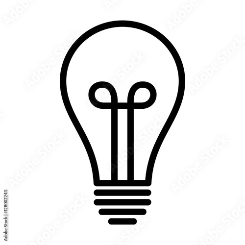 Line Drawing Light Bulb : Quot vintage light bulb lightbulb turned off or idea line