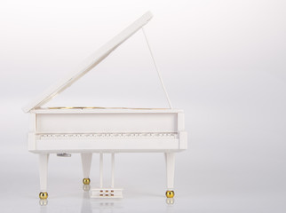 toy or toy grand piano on a background.