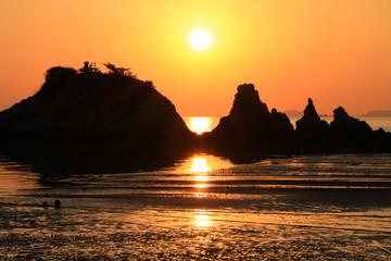 Sunset in Japan