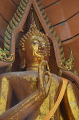 Big Buddha Statue at Wat Tham Sua Temple ,Kanchanaburi Province, Thailand