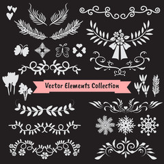 Vector element collection