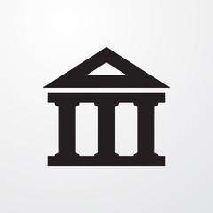 bank icon illustration