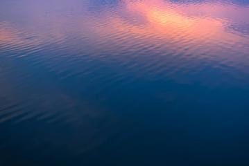 dark blue texture water
