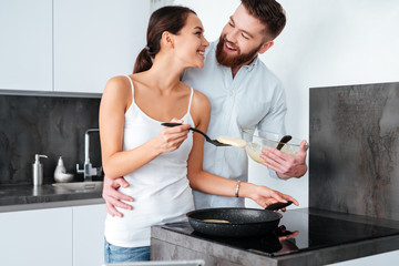 Image of couple prepared pancake