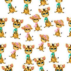 cute giraffe baby