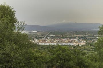 Vista de Vall D'Alba (Castellón, España).