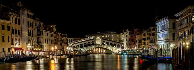 Obraz Venezia, Canal grande, Rialto, Ponte di rialto - fototapety do salonu