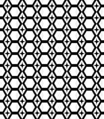 Honeycomb seamless pattern 3