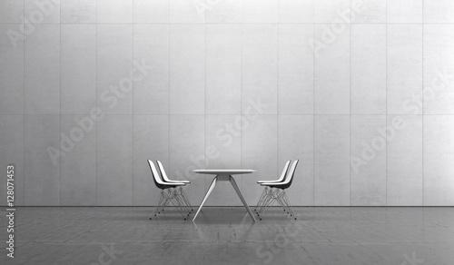 """Büro Besprechung Stuhl Tisch Innenraum Wohnen Essen"