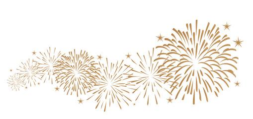 Silvester Feuerwerk Dekoration