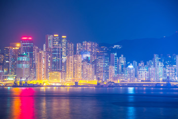 Hong Kong density residential.