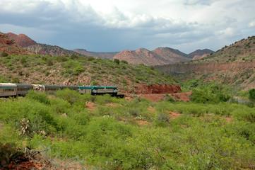 Verde Valley Railway Through the Arizona Canyons