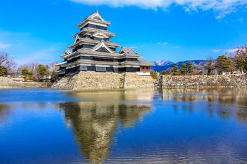 Matsumoto, Japan. Matsumoto Castle (Crow Castle, Fukashi Castle)
