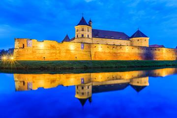 Fagaras,Transylvania,Romania. Medieval fortress. Fototapete