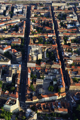 Zagreb center from air