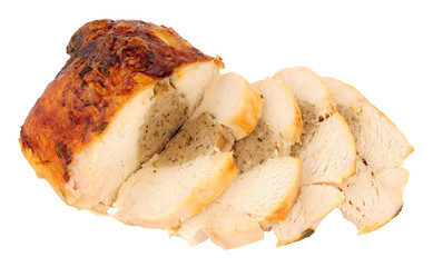 Roast Chicken Meat Crown With Stuffing