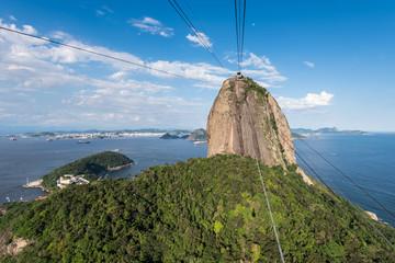 Sugarloaf Mountain, a Landmark of Rio de Janeiro, Brazil