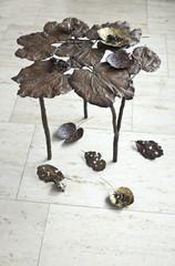 Beistelltisch Blätter