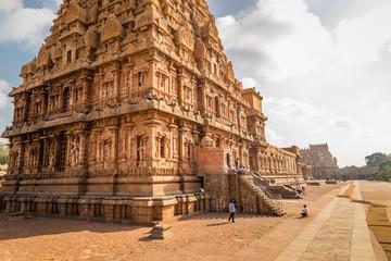 Ancient Hindu temple, Brihadeeswarar Temple, RajaRajeswara, Rajarajeswaram, Tamil Nadu, India