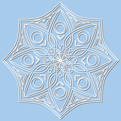 Vector decorative element mandala.