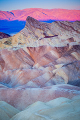 A Cold Zabriskie Point Sunrise