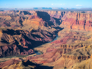 Grand Canyon and the winding Colorado