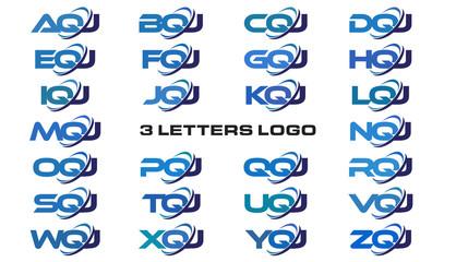 3 letters modern generic swoosh logo AQJ, BQJ, CQJ, DQJ, EQJ, FQJ, GQJ, HQJ, IQJ, JQJ, KQJ, LQJ, MQJ, NQJ, OQJ, PQJ, QQJ, RQJ, SQJ, TQJ, UQJ, VQJ, WQJ, XQJ, YQJ, ZQJ