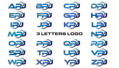 3 letters modern generic swoosh logo APJ, BPJ, CPJ, DPJ, EPJ, FPJ, GPJ, HPJ, IPJ, JPJ, KPJ, LPJ, MPJ, NPJ, OPJ, PPJ, QPJ, RPJ, SPJ, TPJ, UPJ, VPJ, WPJ, XPJ, YPJ, ZPJ