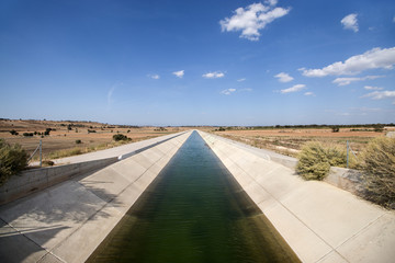 Wall Murals Channel Irrigation Canal