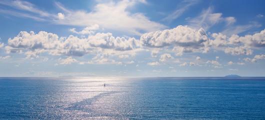 Foto op Aluminium Zee / Oceaan Capraia and Gorgona islands in tuscan archipelago. Italy
