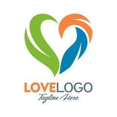 love vector logo