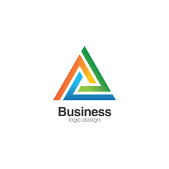 Abstract Business Creative Concept Logo Design Template