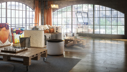 Postindustrial Loft Conception (development)