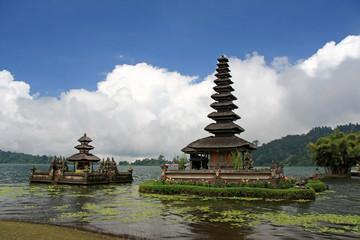 Ulu Danu Temple, Lake Bratan, Bali, Indonesia