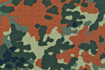 German camouflage texture background