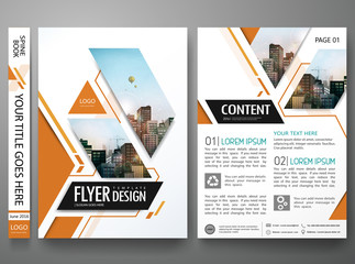 Brochure design template vector.Square layout in cover book portfolio presentation poster.City design on A4 brochure layout.Minimal flyers report business magazine poster layout portfolio template. Wall mural