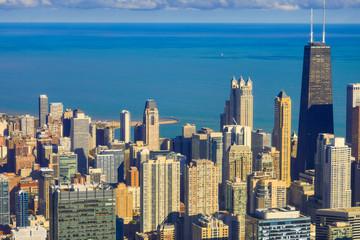 Chicago Wolkenkratzer Lake-shore