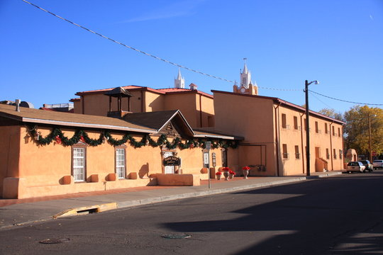 in the old town of Albuquerque