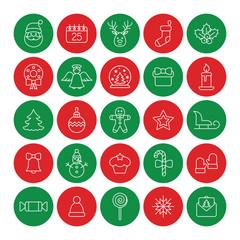 christmas xmas new year winter celebration decoration symbol log