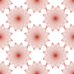 Simless floral abstract pattern in a linear style for design. Vector