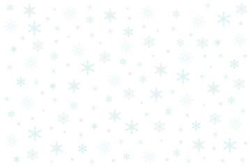 Fototapeta płatki śniegu