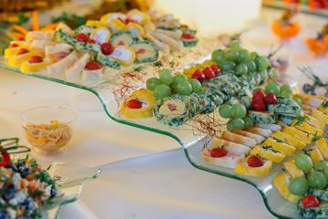 catering hochzeit buffet