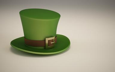 St Patricks Day green 3D hat