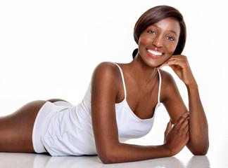 Beautiful  African-American woman. Black Beauty. Beautiful girl