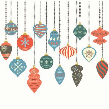 Christmas Ornaments,Christmas Balls Decorations, Christmas Hanging Decoration set