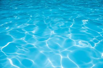 Beautiful ripple water in swimming pool